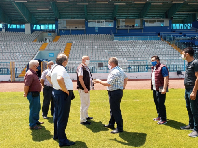 TSYD  Kazım Karabekir Stadyumu'nu inceledi