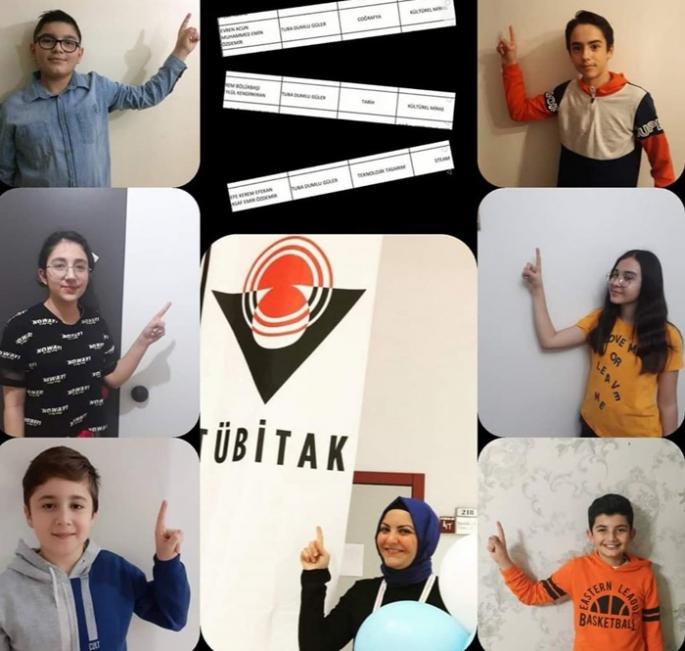 TÜBİTAK Ortaokul öğrencileri proje yarışması sonuçlandı
