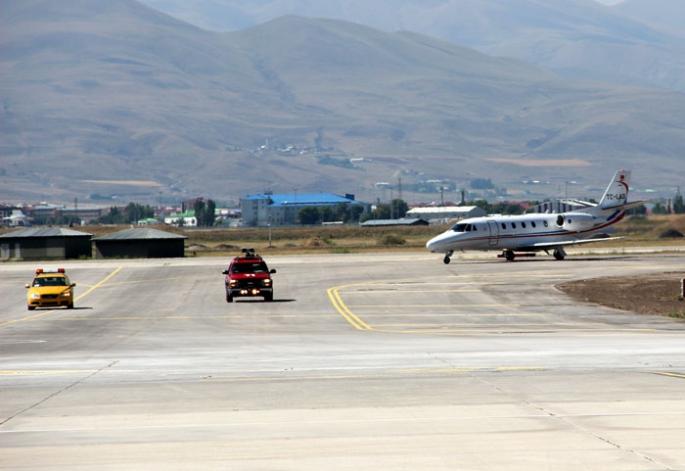 Uçaklar Erzurum'a artık güvenle inecek...