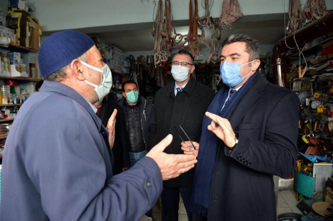 Vali Memiş Karayazı'da incelemelerde bulundu