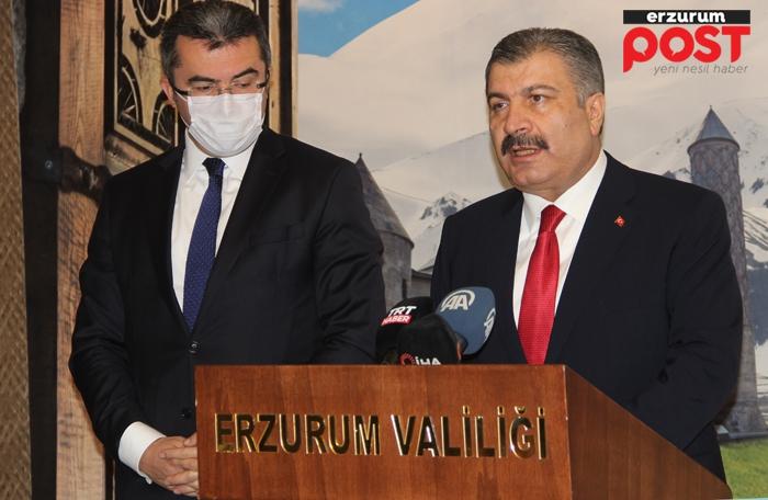 Bakan Koca: İstanbul ve Bursa'da vakalar artıyor, Erzurum'da düşüş var!