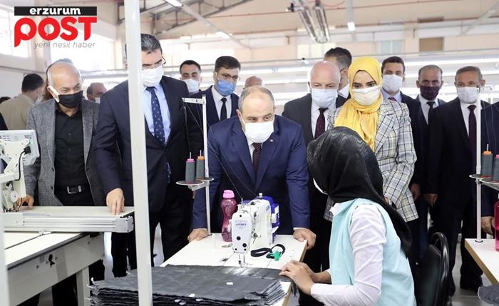 Bakan Varank: Erzurum'da istihdam ve rekabet gücü artacak