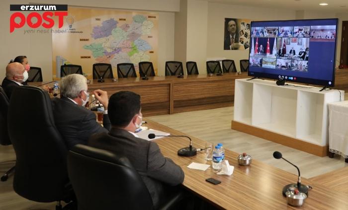 Başkan Öz, Erdoğan'dan tohum desteği talep etti