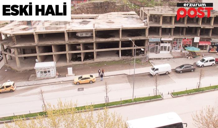 Bosna Caddesi'ndeki metruk yapılar yıkıldı