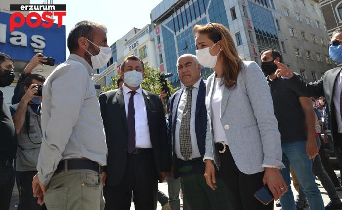 CHP, 60 kişilik heyeti ile Erzurum'da!