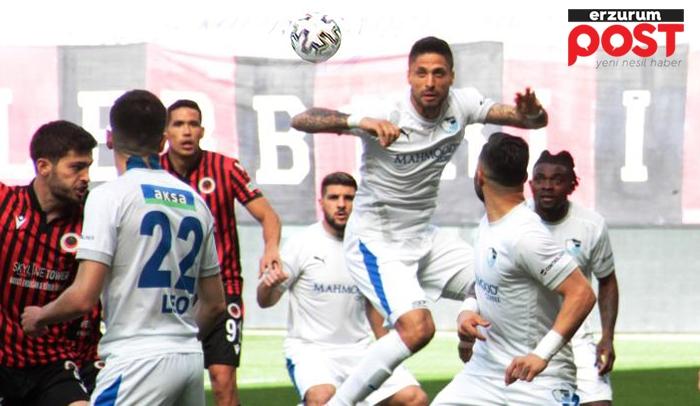 Erzurumspor, Yılmaz ile direnişe geçti! 1-1