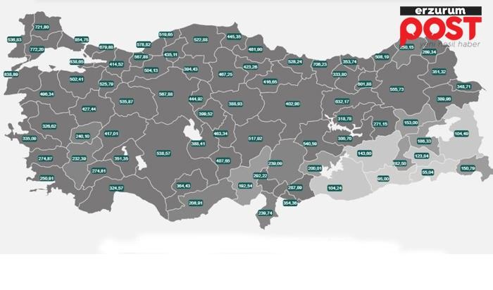 Erzurum'da korkutan Covit-19 tablosu!