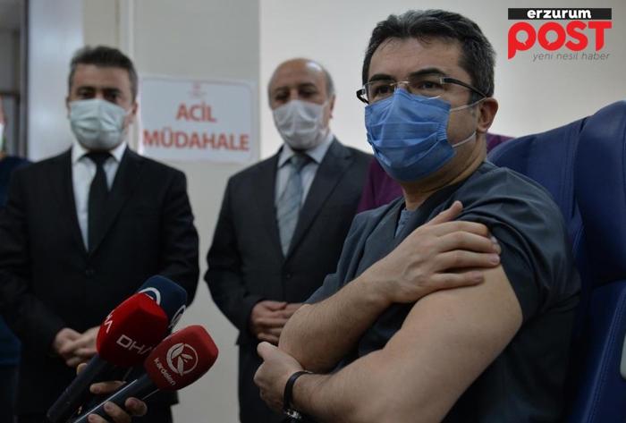 Erzurum Valisi Memiş karantinada!