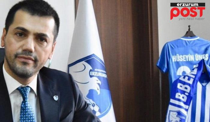 Erzurumspor Başkanı Üneş'ten Erzurum Post'a flaş açıklamalar!