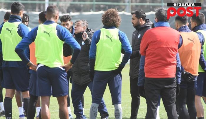 Erzurumspor bu hafta  Konya'yı hırsıyla vuracak!