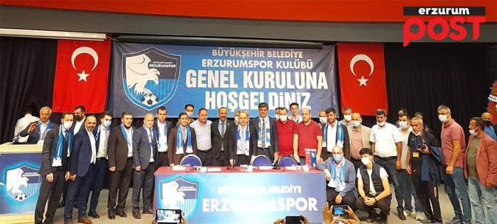 Erzurumspor Ömer Düzgün ile devam dedi