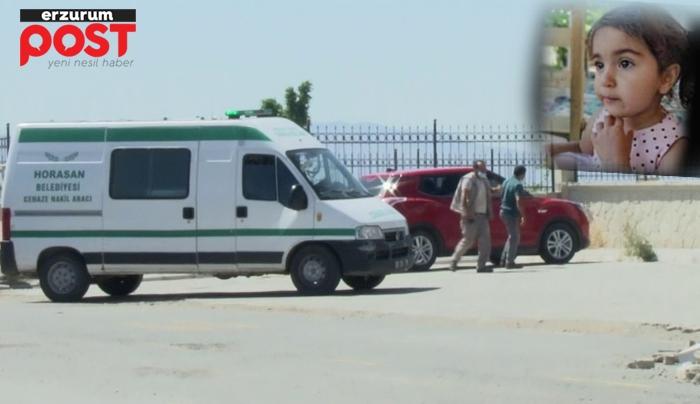 Minik Merve'nin cenazesi Erzurum Adli Tıp'a getirildi